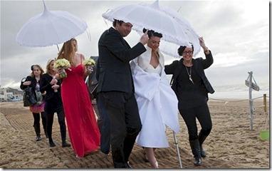 UK Beach Wedding Fail