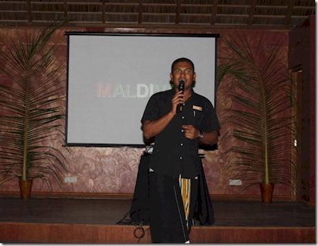 Vakarufalhi cultural expo presentation