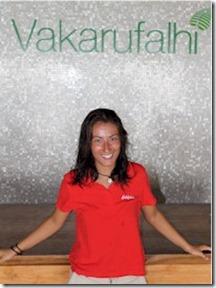 Vakarufalhi snorkel guide Tania