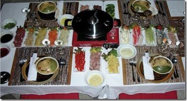 Vilamendhoo chinese fondue 2