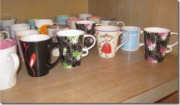 W Retreat mugs