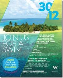 W Retreat ocean swim flyer