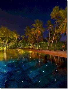 W Retreat pool stars