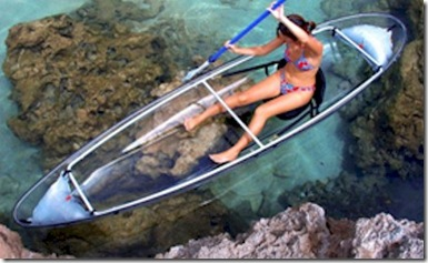 W Resort Molokini glass bottomed canoe