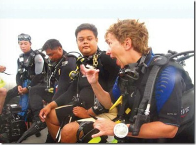 Worldwide Dive and Sail Maldives trip for hearing impaired