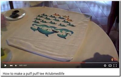 Club Med Kani - puff tee