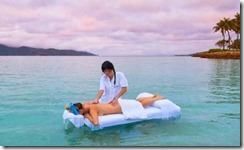 In ocean massage