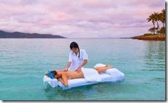 In ocean massage