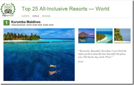 Kurumba - TA Best All-Inclusive