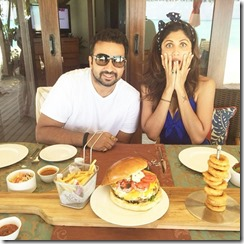 Taj Exotica - Shilpa Shetty lobster burger