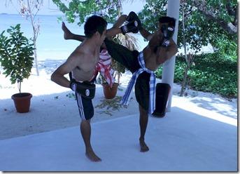 Centara Ras Fushi - thai boxing 2