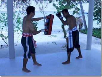 Centara Ras Fushi - thai boxing 3