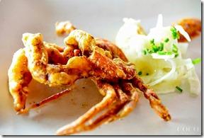Coco Bodu Hithi - crab tempura