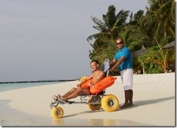 Kurumba - swimming wheelchair 2