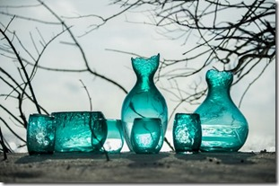 Soneva Fushi glass studio pieces