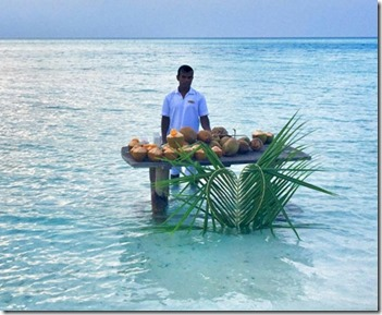 Anantara Kihavah Villas - lagoon cocktails