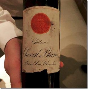 Cheval Blanc Randheli - Chateau Cheval Blanc 1947