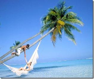 Meeru - lagoon hammock