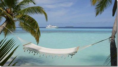 The Rania Experience - lagoon hammock