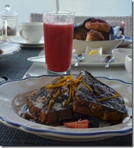 Four Seasons Landaa Giraavaru - brioche French Toast