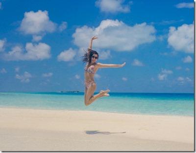 Huvafenfushi - Rosie Londoner - leap
