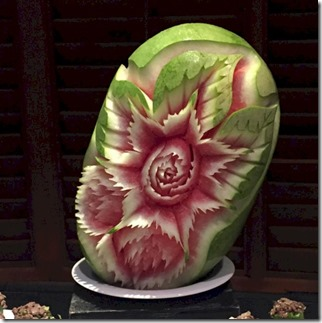 Komandoo - Watermelon carving