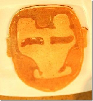 LUX Maldives - pancake Ironman