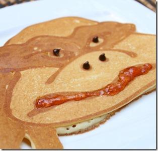 LUX Maldives - pancake Teenage Mutant Ninja Turtle