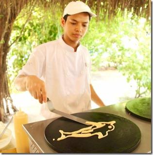 LUX Maldives - pancake dolphin