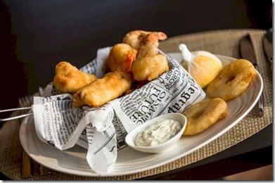 Amilla Fushi - fish and chips