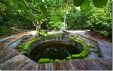 Loama Resort Maldives at Maamigili - ancient well 2