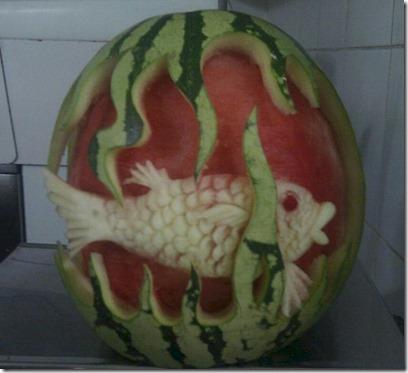 Paradise Island - melon fish