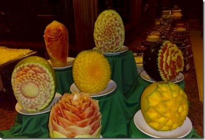 Paradise Island - melon flowers 2