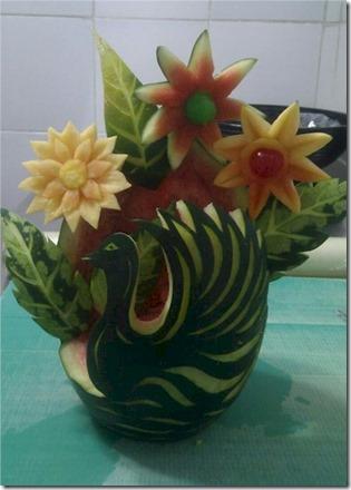 Paradise Island - melon vase