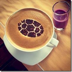 Velaa - coffee motif