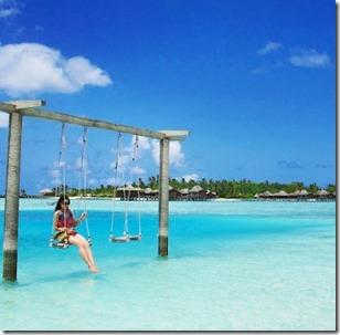 Anantara Dhigu - swing