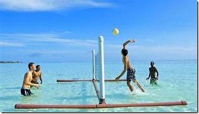 Angsana Velavaru - water volleyball