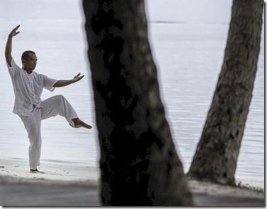 Gili Lankanfushi - Qigong