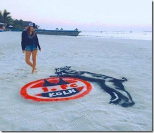 JA Manafaru - sand painting 2