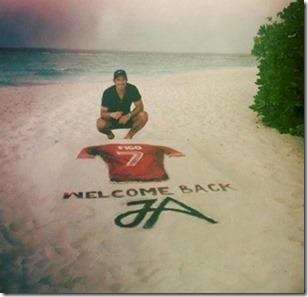 JA Manafaru - sand painting Figi