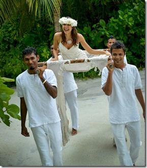 Conrad Rangali - bridal litter