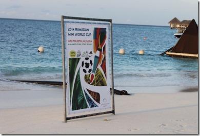 Huvafenfushi - mini World Cup