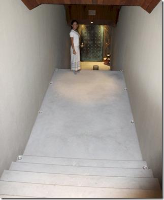 Huvafenfushi - underground win cellar 2