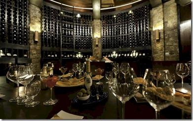JA Manafaru - underground wine cellar