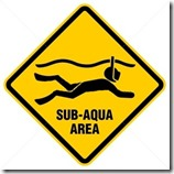 Snorkeling sign