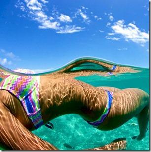 Adaaran Hudhuranfushi - Karina Irby underwater