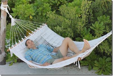 Anantara Kihavah Villas - hammock