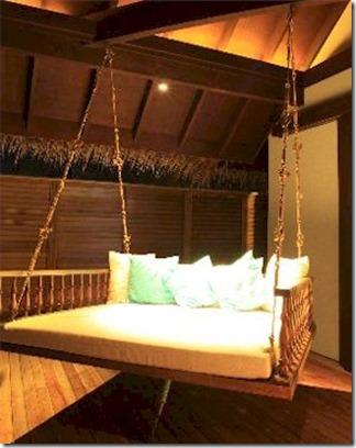 Anantara Kihavah Villas - villa swing