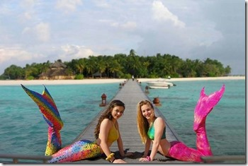 Banyan Tree Vabbinfaru - Mermaid teens