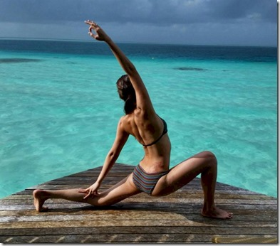Centara Ras Fushi - Deborah Tan yoga